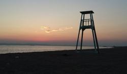 彼女はキレイだった・ロケ地宗介(中島健人)が愛(小芝風花)の写真を撮った砂浜