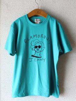 ハコヅメ・永野芽郁衣装ブルーのイラストTシャツ