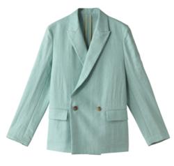 推しの王子様(おしプリ)・ドラマ衣装比嘉愛未ミントグリーンのジャケット