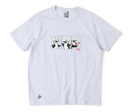 イタイケに恋して菊池 風磨 ・渡辺大知・アイクぬわらライトグレーのプリントTシャツ