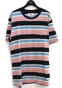 イタイケに恋して菊池 風磨 ・渡辺大知・アイクぬわらピンクxブルーのボーダーTシャツ