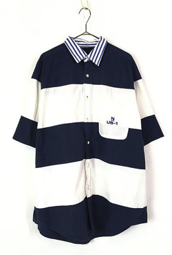 イタイケに恋して菊池 風磨 ・渡辺大知・アイクぬわらネイビーxホワイトのボーダーシャツ