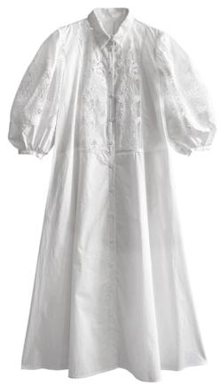 ヒルナンデス!・佐藤栞里衣装ホワイトの刺繍ワンピース