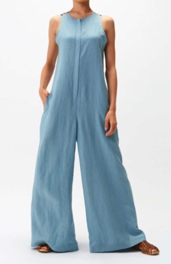 【アメトーーク!】光浦靖子さん衣装(オールインワン)ブルーのオールインワン