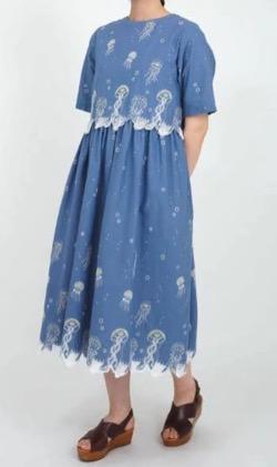 【アメトーーク!】光浦靖子さん衣装(オールインワン)クラゲ柄のワンピース