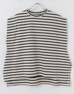 ボクの殺意が恋をした・新木優子衣装半袖ボーダーTシャツ
