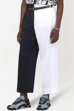 【FNS歌謡祭 2021】永瀬廉さん衣装(パンツ) 黒と白のパンツ