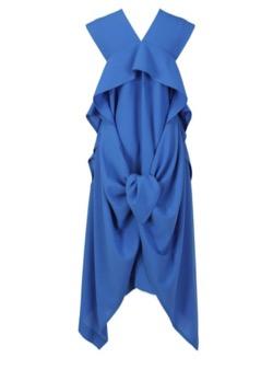 【行列のできる法律相談所】藤間爽子さん衣装 (ワンピース)ブルーのフリルワンピース
