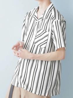 ハコヅメ衣装【早瀬圭人】ストライプシャツ