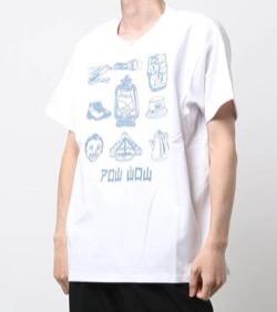 ハコヅメ・三浦翔平・山田裕貴・ムロツヨシ早瀬圭人ドラマ衣装【山田裕貴】白いTシャツ