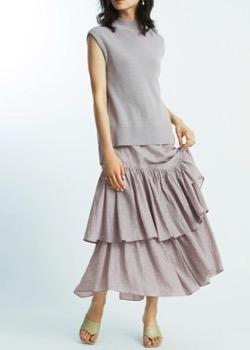 【ヒルナンデス!】新條由芽さん衣装ブルーのノースリーブワンピース