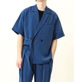 【ヒルナンデス!】八乙女光さん衣装(ジャケット)ネイビーのジャケット