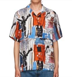 【イタイケに恋して】菊池風磨(菊池風磨)ドラマ衣装カラフルプリントシャツ