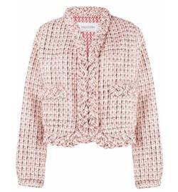 【彼女はキレイだった(かのきれ)】佐久間由衣(桐山梨沙)衣装ピンクのツイードジャケット