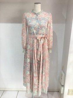 彼女はキレイだった衣装【宇垣美里】ピンクの花柄ワンピース