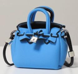 【LiLiCo】ブルーのミニバッグ