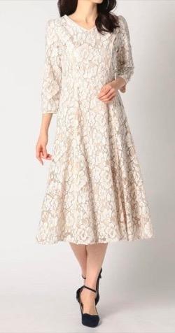 彼女はキレイだった(かのきれ)宇垣美里ドラマ衣装白いレースワンピース
