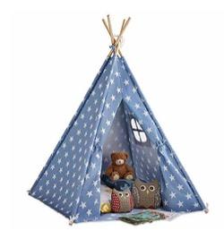 【#家族募集します】俊平(重岡大毅)の会社に置かれている絵本・おもちゃ・家電(ウォーターサーバー・ランプ・空気清浄機)など紹介♪ブルーの三角キッズテント