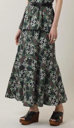女の戦争【葵わかな】プリントロングスカート