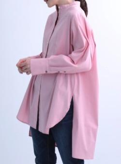 推しの王子様(おしプリ)・ドラマ衣装比嘉愛未ピンクの長袖シャツ