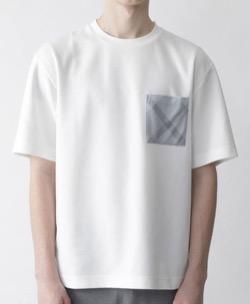 プロミスシンデレラ・眞栄田郷敦衣装ポケットデザイン白Tシャツ