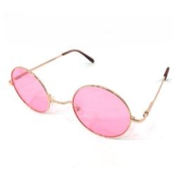 プロミスシンデレラ・三田佳子衣装ピンクの丸いサングラス