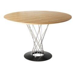 【痴情の接吻】中村ゆりか(柏木和華)ドラマ衣装木の丸型テーブル
