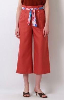 TOKYOMER・仲里依紗(高輪千晶)ドラマ衣装赤いパンツ