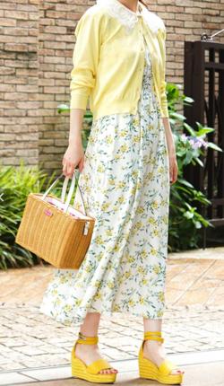 めざましテレビ藤本万梨乃衣装ホワイトの花柄スカート