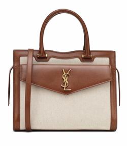 ハコヅメ・戸田恵梨香衣装ブラウンxベージュのバッグ
