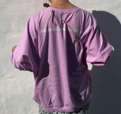 岡田結実・吉田あかりドラマ衣装ピンクのロングTシャツ
