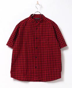 【家族募集します】重岡大毅・仲野太賀ドラマ衣装レッドのチェック柄シャツ