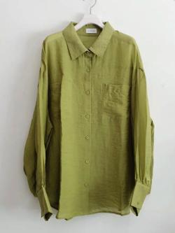 岡田結実・神宮寺勇太・吉田あかり・石川萌香ドラマ衣装グリーンのシャツ