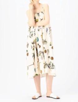 有吉の壁佐藤栞里衣装ボタニカル柄フレアスカート