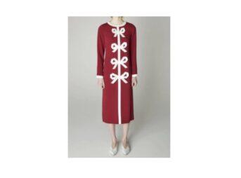 【激レアさんを連れてきた】で沢口靖子(さわぐちやすこ)さんが着用している衣装【激レアさんを連れてきた】沢口靖子 衣装・ファッション(赤いリボンデザインのワンピース)ブランドや購入先紹介♪