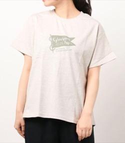 【おかえりモネ】清原果耶衣装粗挽きプリントTシャツ