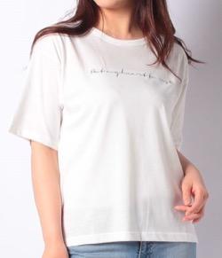 【おかえりモネ】清原果耶衣装筆記体ロゴTシャツ