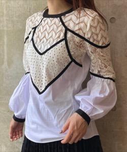 【さんまのお笑い向上委員会】久慈暁子衣装白いレースブラウス