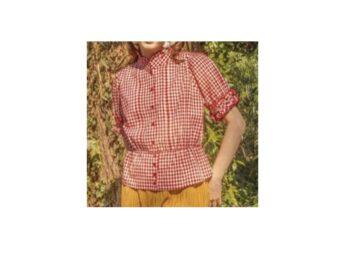 【突然ですが占ってもいいですか?】小林星蘭 衣装(赤いチェックのブラウス)のブランドはこちら♪