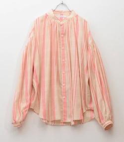 【うきわ・第2話】門脇麦・西田尚美・蓮佛美沙子 衣装ピンクのストライプブラウス