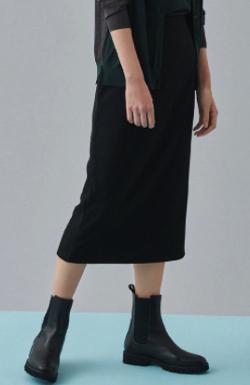 Live News it!加藤綾子衣装ブラックのタイトスカート