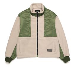 最愛松下洸平衣装アイボリーxカーキのジャケット