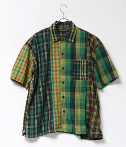 【家族募集します】重岡大毅・仲野太賀ドラマ衣装グリーン系のチェック柄シャツ