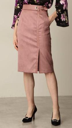 ZIP!水卜麻美 (みとちゃん)衣装ピンクのコンビスカート