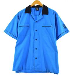 【家族募集します】重岡大毅・仲野太賀ドラマ衣装ブルーのボウリングシャツ