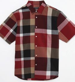 【家族募集します】重岡大毅・仲野太賀ドラマ衣装レッド系のランダムチェックシャツ