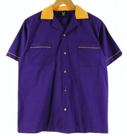 【家族募集します】重岡大毅・仲野太賀ドラマ衣装ムラサキのボウリングシャツ