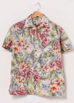 【家族募集します】重岡大毅・仲野太賀ドラマ衣装カラフルな花柄アロハシャツ