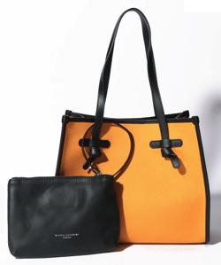 ラジエーションハウス(ラジハ)2・本田翼衣装オレンジのトートバッグ