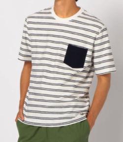 【家族募集します】重岡大毅・仲野太賀ドラマ衣装ホワイトのボーダーTシャツ
